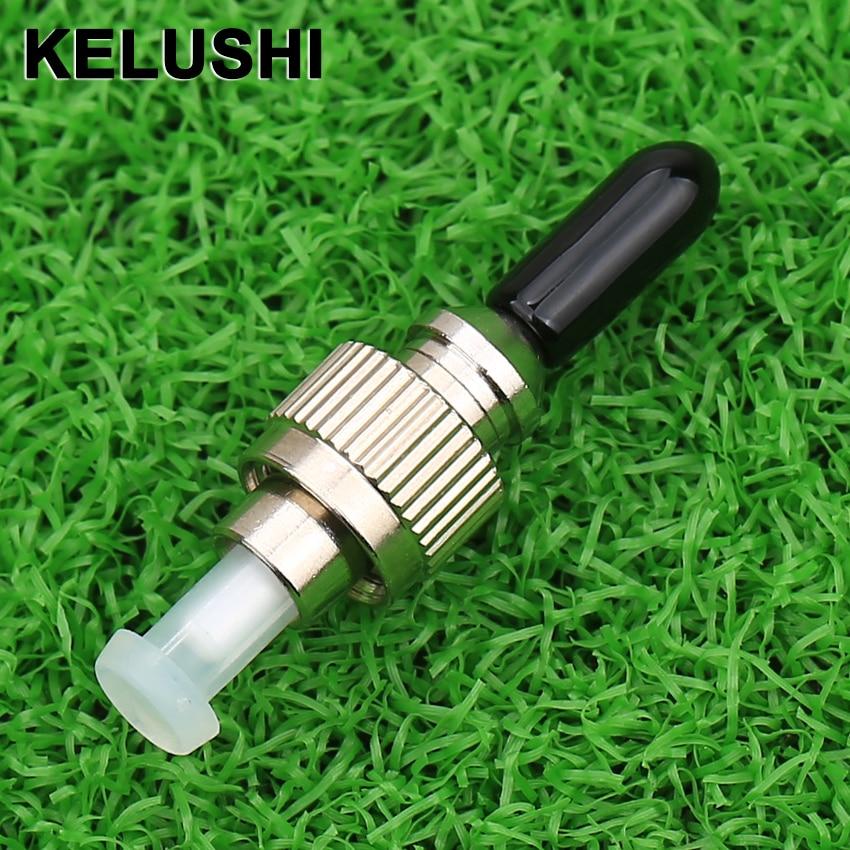 KELUSHI 1.25mm To FC/UPC Hybrid Adapter 1.25 Female FC Male Optical Fiber Adapter Single Mode FC LC Fiber Optic Tool 2.5mm FTTH