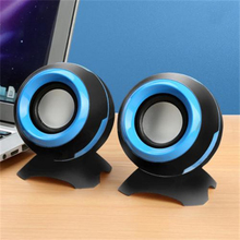 Wired Speakers Laptop Sound-Surround Stereo Mini USB No for PC Notebook Not-Bluetooth-Loudspeakers