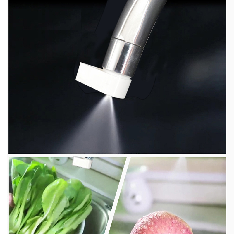 Plastic Faucet Nozzle Tap Part Atomization Device Sink Water Saving Sink Spray Bubbler Extender Kitchen Accessories