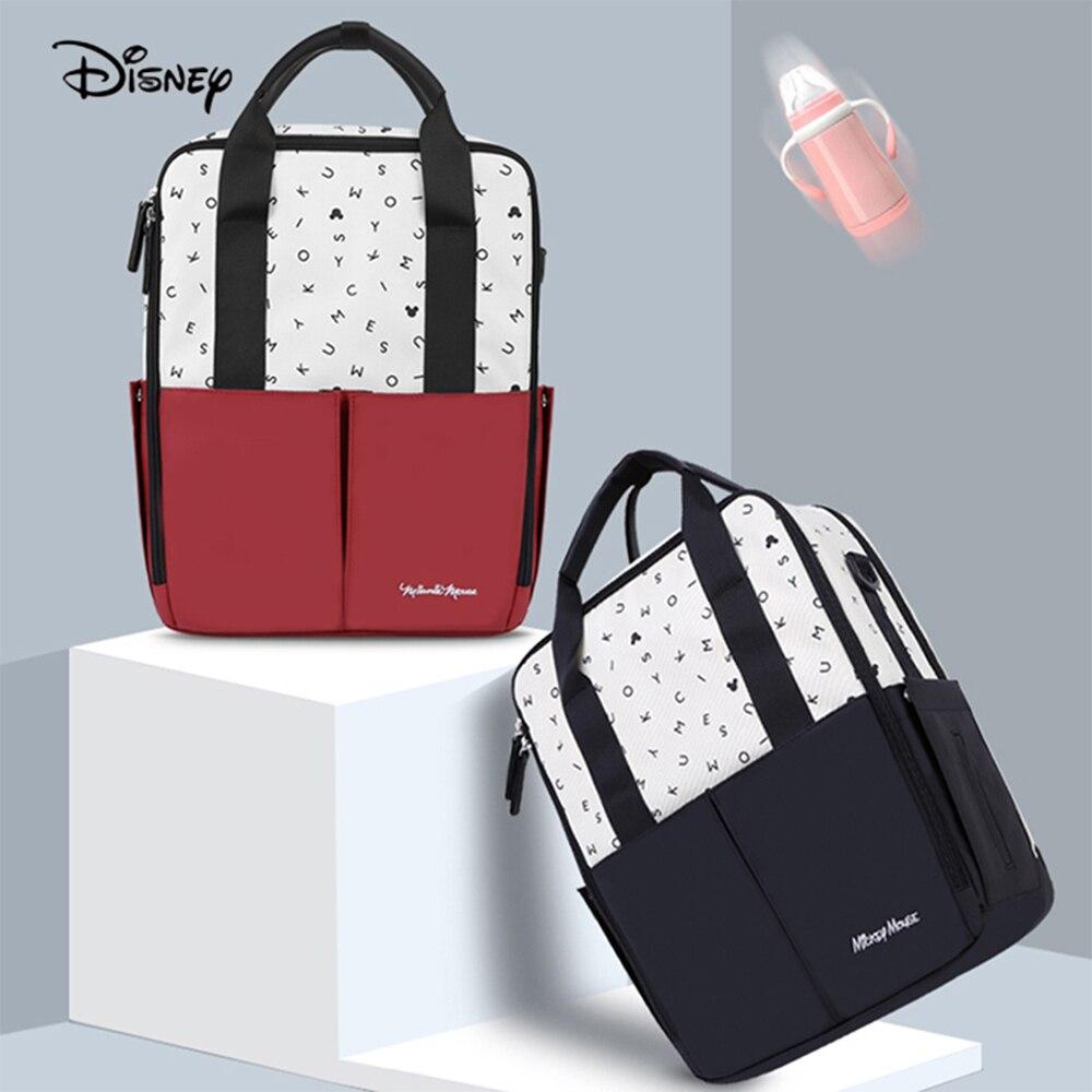 Disney-sac de maman multifonctionnel | Sac de bébé pour maman, Nappies, sac à main couches, sac de maternité, livraison directe, nouveau Style 2020