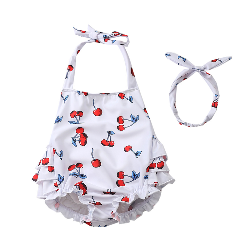 INS Newborns Young Children Girls Baby Leak-Proof Buoyancy Swimming Diaper Pants Swimsuit Swimming Trunks