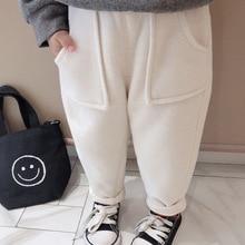 Mihkalev/повседневные штаны для маленьких девочек г. Модные детские осенне-зимние штаны для девочек флисовые брюки для детей от 2 до 8 лет штаны для девочек