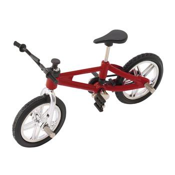 Palec rower ze stopu Model Mini MTB BMX ostre koło chłopcy zabawka kreatywna gra prezent Drop Ship tanie i dobre opinie 12-15 lat 5-7 lat 8-11 lat OCDAY 6A40242 Certyfikat CN (pochodzenie) Approx 10 * 7cm 20202020 Finger rowery Z tworzywa sztucznego