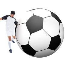 Giant Inflatable Soccerball Extra Large Beach Ball Swimming Pool Toy Jumbo Football Supplies