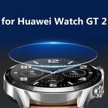 Protetores de tela para huawei assistir gt2 42mm 46mm vidro temperado para huawei assistir gt2 protetores pantalla transparente para huawei