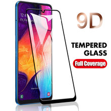 9D Screen Protector For Samsung Galaxy A7 2018 Full Cover Tempered Glass For Samsung A6 A8 Plus A9 Pro A8S A9S A2 Core A20e Film(China)