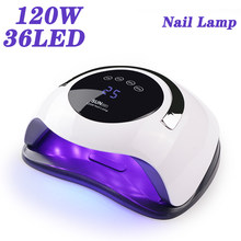 Professional UV LED Lamp Nail Dryer 36 Pcs Leds Nail Lamp For Manicure Nail Art Tools Curing Gel Nails Polish With LCD Display