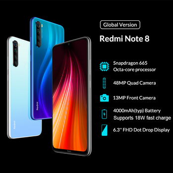 Global Version Xiaomi Redmi Note 8 3GB 32GB Cellphones & Telecommunications