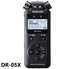 TASCAM DR 05X DR05X เครื่องบันทึกเสียงดิจิตอลแบบพกพาสัมภาษณ์บันทึก MP3 Linear PCM Recorder การบันทึกปากกา USB AUDIO INTERFACE