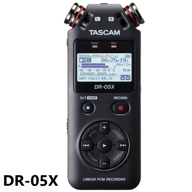 Tascam DR 05X DR05X Draagbare Digitale Voice Recorder Interview Recorder MP3 Lineaire Pcm Recorder Opname Pen Usb Audio Interface