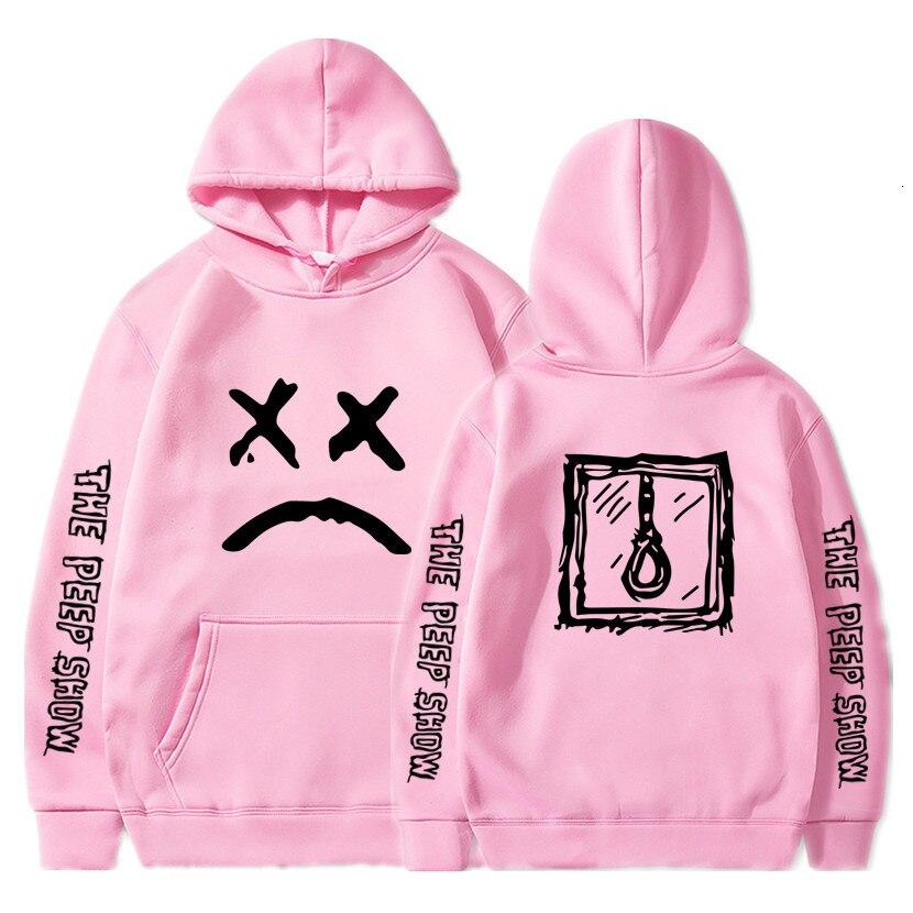 Hip Hop Lil Peep Hoodies Hell Boy Lil.peep Men Women Hooded Pullover Male Female Sudaderas Cry Baby Hood Hoddie Sweatshirts