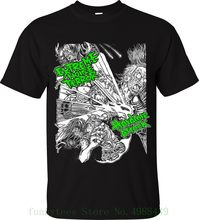 Extreme Noise Terror T Shirt Hardcore Attack Napalm Death Disrupt Grindcore Ent Young Man Brand T Shirt Anime Fashion(China)
