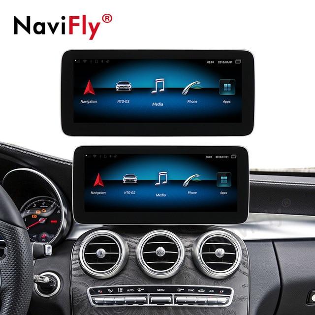 "Neue ankunft!! Auto multimedia-player 4GB + 64GB 12.5 ""Android 10,0 Auto dvd player für Mercedes benz C Klasse w205 2014-2018"