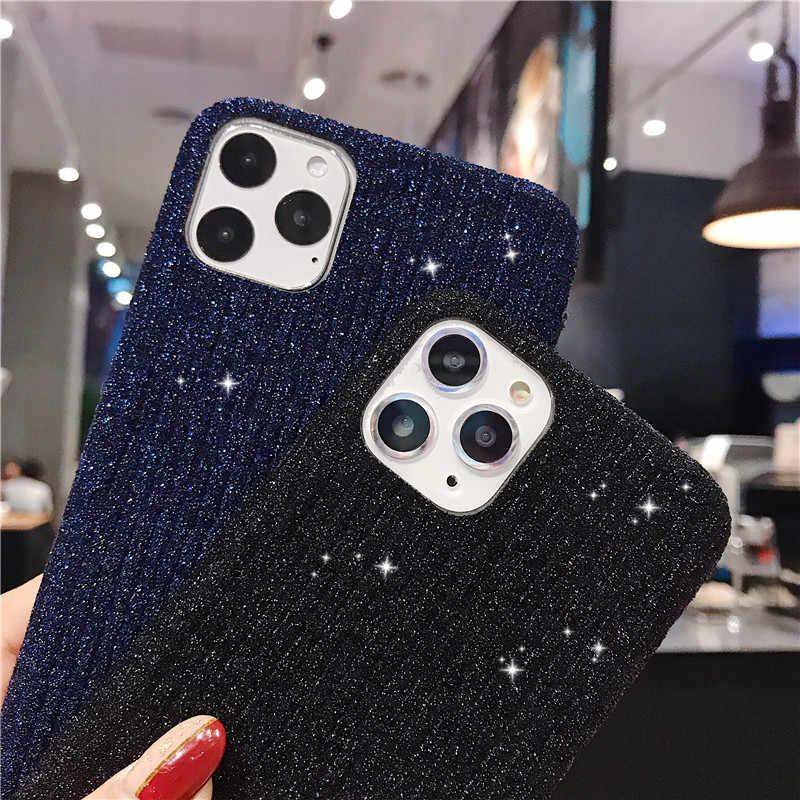 Sáng Lấp Lánh Ốp Lưng Điện Thoại Iphone 11 11pro 11Pro Max X X XS Max 8 7 6 6S 6S Plus mềm Dẻo Silicone Chống Sốc Nhung Ấm Bao
