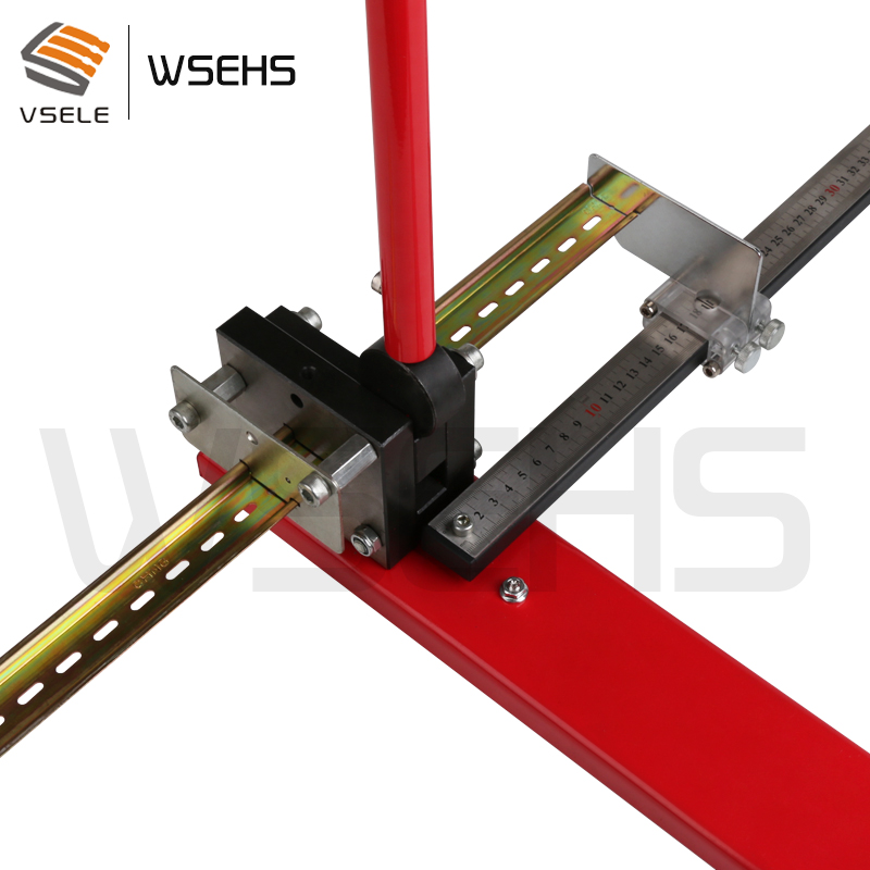 multifuntional din rail cutter din rail cutting tool easy cut with measure gauge