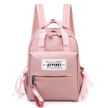 Oxford Women Fashion School Backpack Computer Zipper Bag Middle School Students Bags Travel Bag Back Pack fashion flat school backpack travel back pack oxford back bag