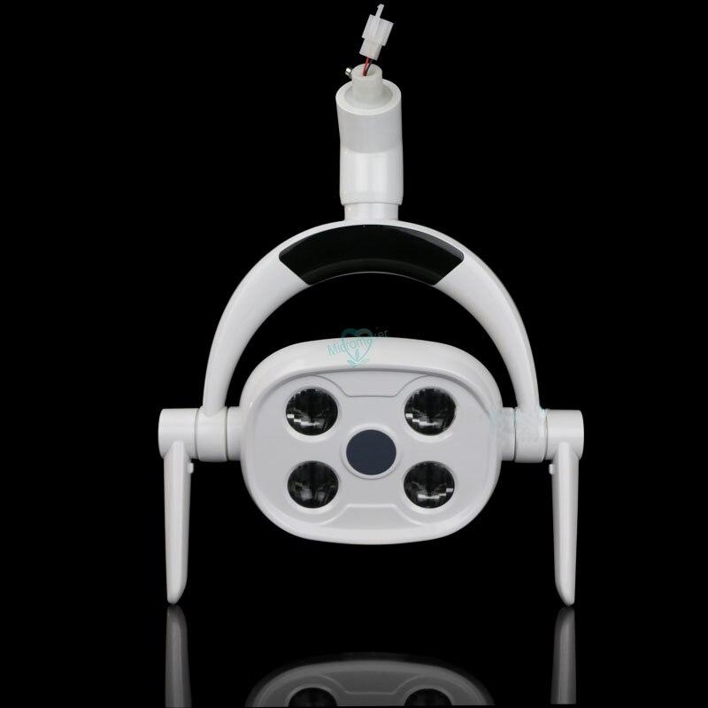 1 conjuntos de led oral lampada inducao 4500k 10w luz ferramenta acessorios facil instalar operacao shadowless