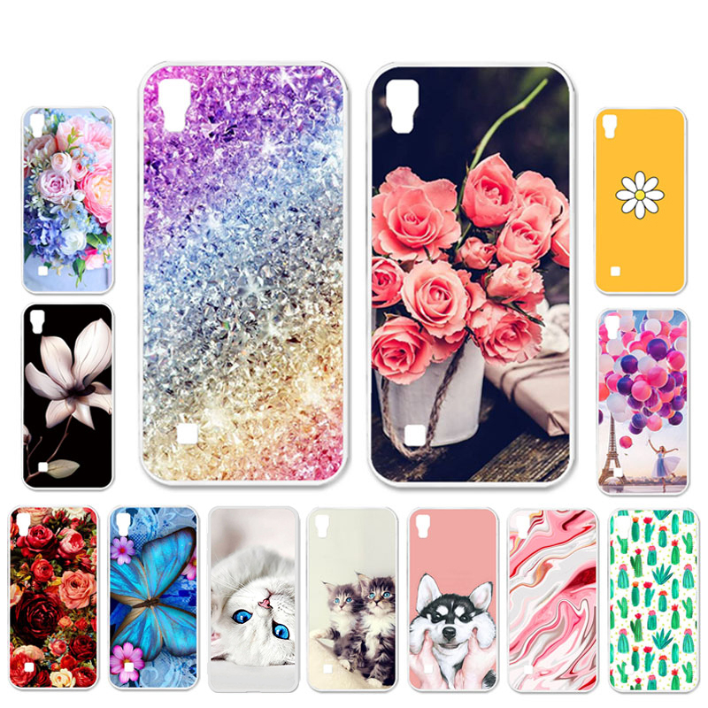 Ojeleye DIY Patterned Silicon Case For LG X Power Case Soft TPU Cartoon Phone Cover For LG X Power 2 Covers Anti-knock Shell