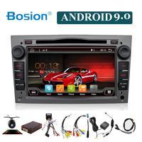 Android 9,0 автомобильный dvd для OPEL Vauxhall Astra Meriva Vectra Antara Zafira Corsa Agila gps радио видео WIFI мультимедийный проигрыватель DAB +