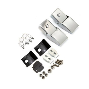 For Jeep Wrangler JK 2007-2017 Car Retrofit Hood Latch Hood Latch Stainless Steel Hood Latch Hood Latch Latch Latch Kit (Silver) фото