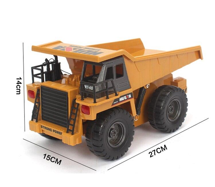 potência rc basculante dump rc caminhões de