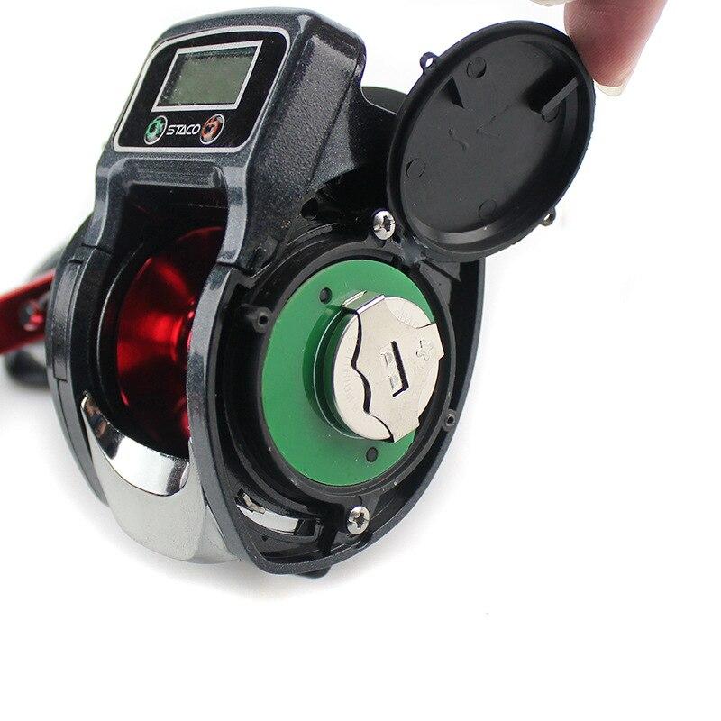 display digital eletronico linha pesca contador carreteis 03