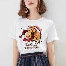 2019 New Hakuna Matata Shirt Women Harajuku Ullzang Fashion the lion king T-shirt summer fashion Women casual Tops Tee
