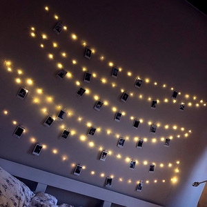 LED string lights powered by B