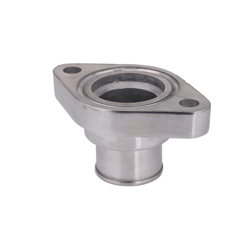 New Car Styling Polished Aluminum Water Neck Swivel 180 Degree For Chevy SB BB 318 340 383 440 Car Accessories