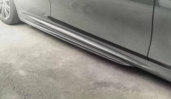 MP Style G20 carbon fiber Side Skirt Extensions for BMW G20 New 3 Series Sedan 320 330 340 with M Package 2019 - 2025