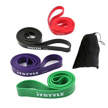 """41"""" Resistance Bands 208cm Fitness Rubber Pull Up Crossfit Power latex Expander Hanging Yoga Loop Band"""