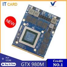 For Dell Alienware M17X R4 R5 M18X R2 R3 /HP /MSI/Clevo GTX980M GTX 980M 8GB GDDR5 N16E-GX-A1 Video Graphics Card