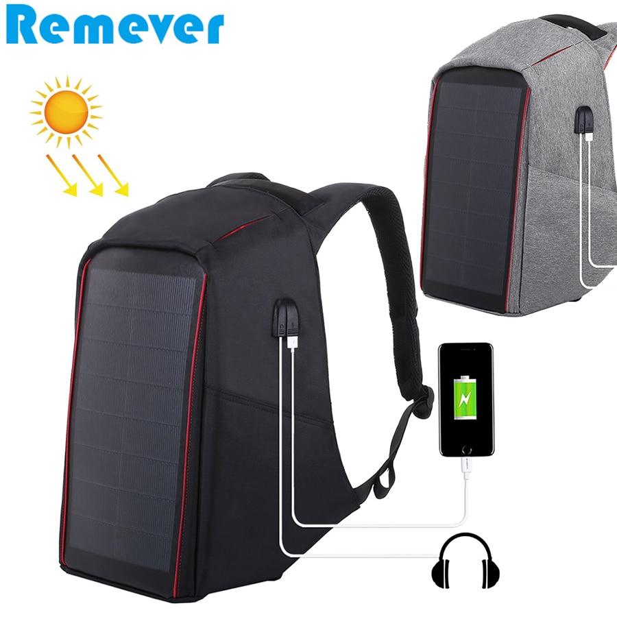 Новый Уличный дорожный рюкзак, сумки через плечо с солнечной панелью, 12 Вт, 5 В, 2,1 А, USB зарядное устройство для телефонов и планшетов