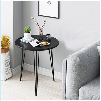 coffee table Living room furniture Side table modern Home iron coffee tables simple light luxury Nordic sofa  round corner table simple modern sofa side corner several moving bedside table american style solid wood living room small round coffee table
