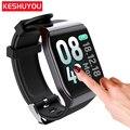Умный Шагомер часы для мужчин монитор сердечного ритма фитнес водонепроницаемый Ip67 смарт-трекер часы кровяное давление для Android IOS