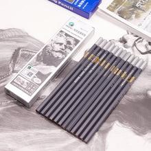 3 шт. карандаш для эскизов, художественный карандаш, мягкий/супер мягкий/нейтральный/твердый деревянный или бумажный материал, корпус ручки