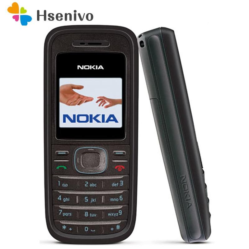 1208 Original Cellular Nokia 1208 Cheap Phones GSM Unlocked Phone Refurbished