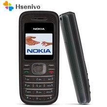 Nokia 1208 remodelado-celular original nokia 1208 telefones baratos gsm desbloqueado telefone