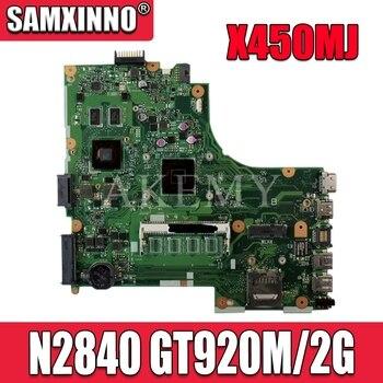X450MJ N2840 CPU Motherboard REV 2.0 For ASUS X450 X450M X450MD X450MJ X452M Laptop Mainboard Test OK