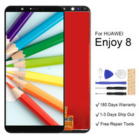 For Huawei Honor 7C Nova 2 Lite Y7 Prime 2018 LCD Display With Touch Screen Assembly For Huawei Y7 Pro 2018 Enjoy 8 LCD
