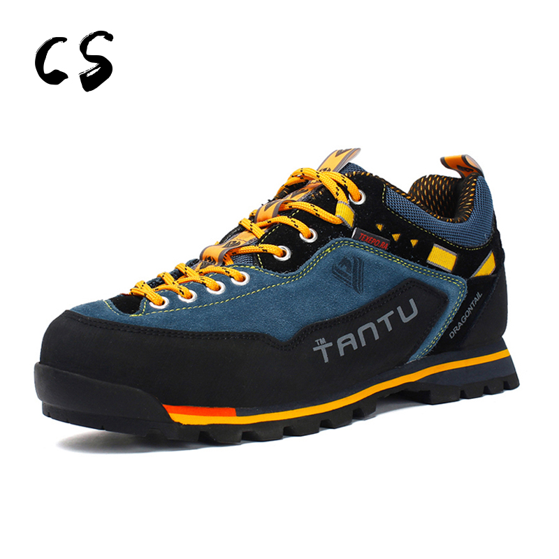Surface Waterproof Camping Walking Climbing Shoes Men Breathable Outdoor Hiking Shoes Ourdoor mountain hiking shoes 8038