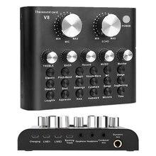 Профессиональная тв приставка v8 звуковая карта аудио интерфейс