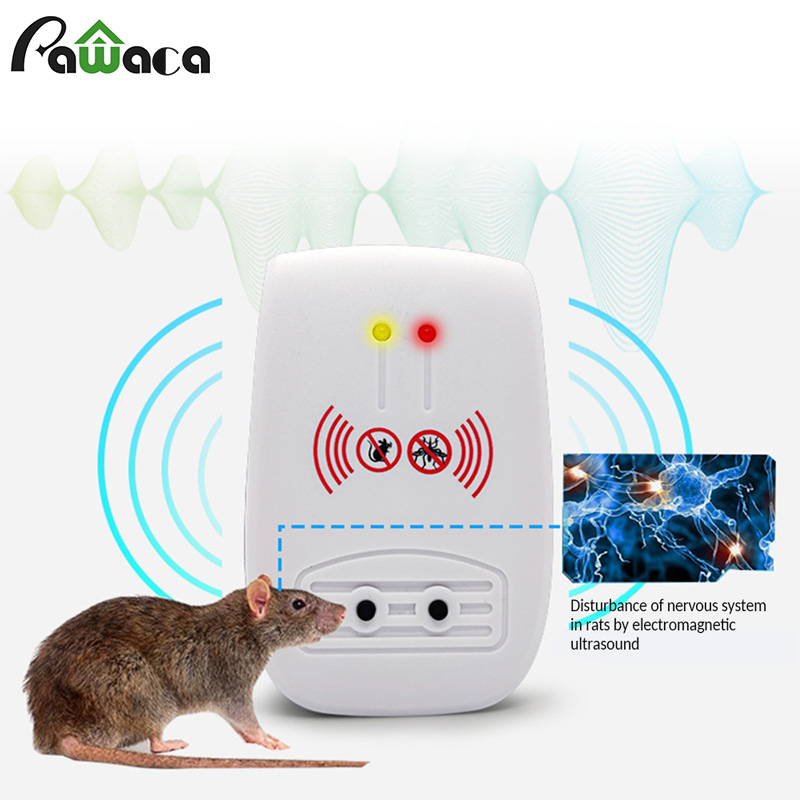 Electronic Pest Reject Ultrasonic Pest Repeller Home Anti Mosquito Repellent Killer Rodent Bug Reject Mole Mice EU/US/UK/AU plug