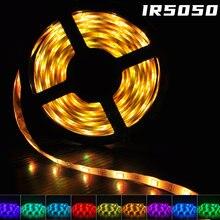 Светодиодный ленточный светильник ir luces rgb 5050 гибкая лента