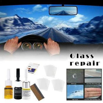 New Automotive Glass Repair Fluid Kit Car Window Windshield Glass Crack Chip Repair Tool Kit Car Universal Wash Maintenance 1