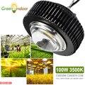 100 Вт 3500K CXB3590 CXB2530 COB светодиодный светильник для выращивания растений  полный спектр для выращивания растений  палаток для выращивания цвет...