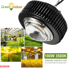 100W 3500K CXB3590 CXB2530 COB LED Grow Light Lamp Full Spectrum For Plants Indoor Growing Tent Flower Growth Fitolampy Fitolamp