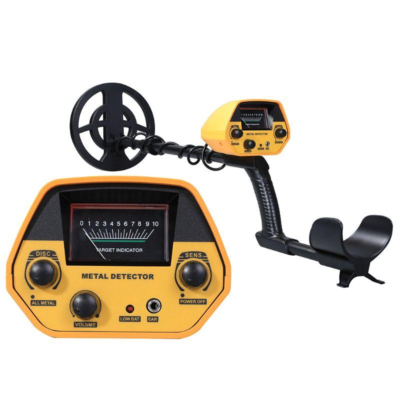 Underground Metal Detector Deep Sensitive Gold Digger Hunter for Beginner V9O7