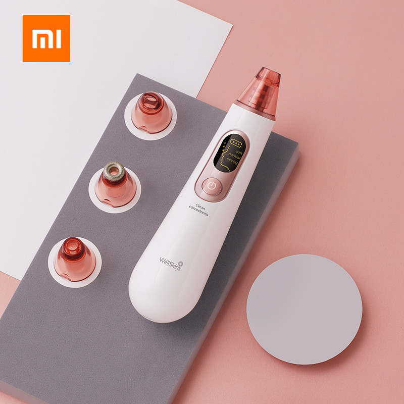 Xiaomi Mijia Youpin Wellskins Electric Blackhead Cleaner Apparatus to Blackhead Cosmetology Apparatus to Wash Pore Cleaner|Smart Remote Control| |  - title=