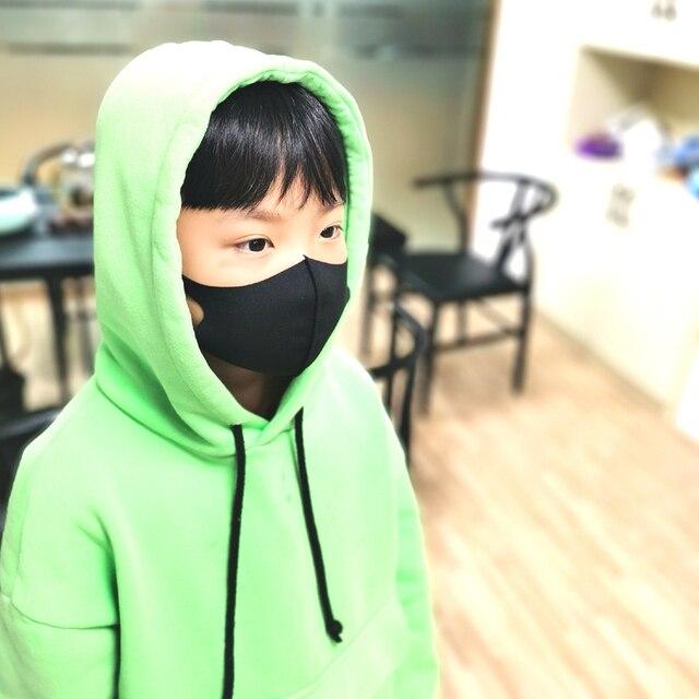 Spring Mask Dustproof Mouth Face Mask Kpop Kids Children Sponge Face Mouth Masks K-pop Antibacterial Breathable Masks Washed 1